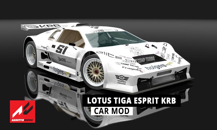 Lotus Tiga Esprit Krb Assetto Corsa Mods